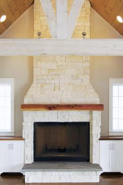 limestone-fireplace-cedar-mantle-2